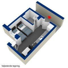 Отель ApartHotel Faber 3* Студия разные типы кроватей фото 4