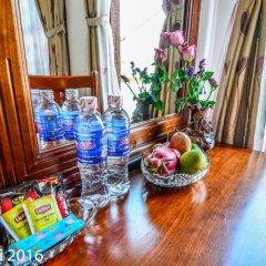 Отель Nhi Nhi 3* Номер Делюкс фото 7