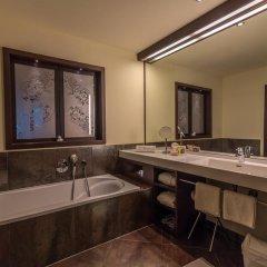 Отель Ansitz Plantitscherhof Италия, Меран - отзывы, цены и фото номеров - забронировать отель Ansitz Plantitscherhof онлайн ванная фото 2