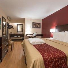 Отель Red Roof Inn PLUS+ Columbus-Ohio State University OSU 2* Улучшенный номер с различными типами кроватей фото 5