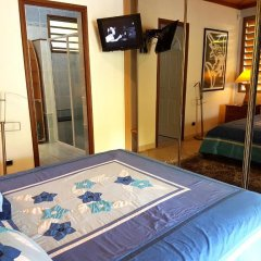Отель Villa Oramarama by Tahiti Homes Французская Полинезия, Папеэте - отзывы, цены и фото номеров - забронировать отель Villa Oramarama by Tahiti Homes онлайн комната для гостей фото 4