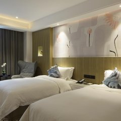 Paco Hotel Guangzhou Gangding Metro Branch 4* Стандартный номер с различными типами кроватей фото 3