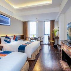 Amazing Hotel Sapa 4* Улучшенный номер с различными типами кроватей фото 3