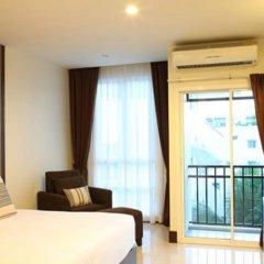 Отель Crystal Suites Suvarnabhumi Airport Бангкок балкон
