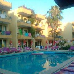 Bonjorno Apart Hotel Турция, Мармарис - отзывы, цены и фото номеров - забронировать отель Bonjorno Apart Hotel онлайн бассейн