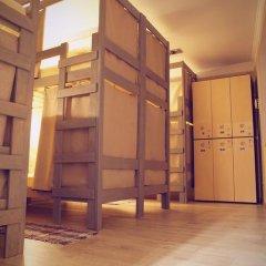 Хостел 3952 - Иркутск на Марата Кровать в общем номере с двухъярусной кроватью фото 10