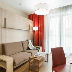 Гостиница Адажио Москва Павелецкая Студия с различными типами кроватей фото 2