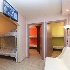 Hostel na Preobrazhenke Tut Zhivut Кровать в общем номере с двухъярусной кроватью фото 3