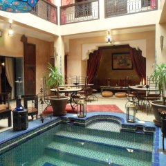 Отель Riad Lapis-lazuli Марракеш питание фото 2