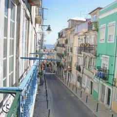 Отель Stories of Lisbon балкон