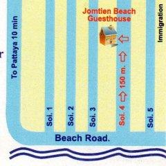 Отель Jomtien Beach Guesthouse Паттайя интерьер отеля