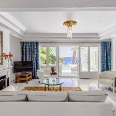 Отель Danai Beach Resort Villas 5* Вилла с различными типами кроватей фото 3