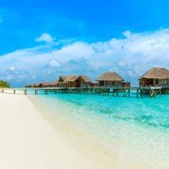 Отель Conrad Maldives Rangali Island 5* Улучшенная вилла с различными типами кроватей фото 7