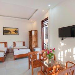 Отель Tra Que Flower Homestay комната для гостей фото 4