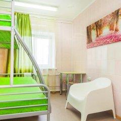 Хостел Миллениум Номер Эконом с 2 отдельными кроватями