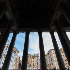 Отель Rome as you feel - La Rotonda al Pantheon Италия, Рим - отзывы, цены и фото номеров - забронировать отель Rome as you feel - La Rotonda al Pantheon онлайн балкон