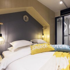Hotel With Urban Deli 3* Стандартный номер с различными типами кроватей фото 5