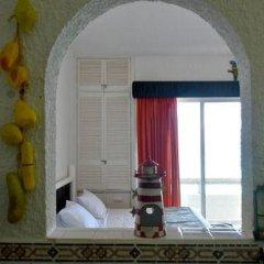 Отель Solymar Cancun Beach Resort 3* Студия Делюкс с различными типами кроватей фото 12