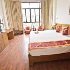 Hanoi Little Center Hotel 3* Стандартный номер двуспальная кровать фото 7
