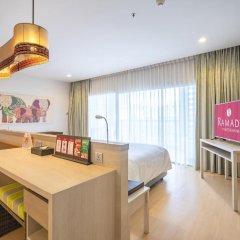 Отель Ramada by Wyndham Phuket Deevana Patong Номер Делюкс с двуспальной кроватью фото 8