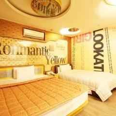 Haeundae Grimm Hotel 2* Номер Делюкс с различными типами кроватей фото 3