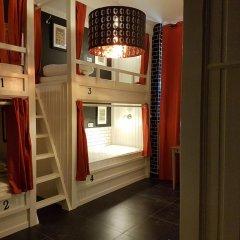 Отель Hostel Galia Бельгия, Брюссель - отзывы, цены и фото номеров - забронировать отель Hostel Galia онлайн комната для гостей фото 3