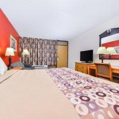 Отель Americas Best Value Inn - North Nashville/Goodlettsville 2* Стандартный номер с различными типами кроватей фото 4