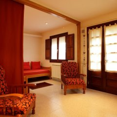 Отель El Porxo De Can Baixeres Монсени комната для гостей фото 3