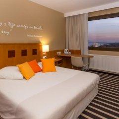 Отель Novotel Gdansk Marina 3* Стандартный номер с различными типами кроватей фото 3