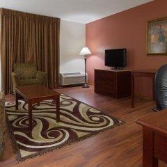 Отель Chicago Club Inn & Suites 3* Представительский люкс с различными типами кроватей