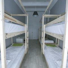 Хостел Bla Bla Hostel Rostov Кровать в мужском общем номере с двухъярусной кроватью фото 16