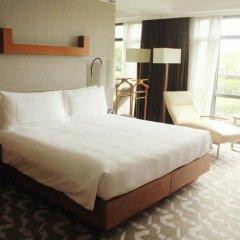 Отель Swissotel Grand Shanghai 5* Стандартный номер с различными типами кроватей фото 3