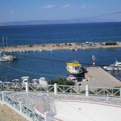 Hotel Milos пляж