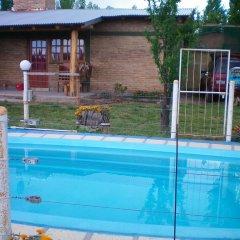 Отель Cabañas Tomycan Сан-Рафаэль бассейн