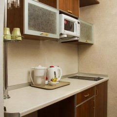 Гостиница Теремок Заволжский Апартаменты разные типы кроватей фото 49