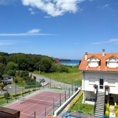 Отель Dúplex Playa La Arena Испания, Арнуэро - отзывы, цены и фото номеров - забронировать отель Dúplex Playa La Arena онлайн спортивное сооружение