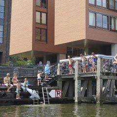 Отель Houseboat Westerdok Нидерланды, Амстердам - отзывы, цены и фото номеров - забронировать отель Houseboat Westerdok онлайн приотельная территория