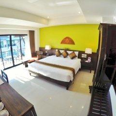 Отель Navatara Phuket Resort 4* Улучшенный номер с различными типами кроватей фото 3