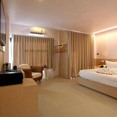 My Hotel 3* Номер Делюкс с двуспальной кроватью фото 4