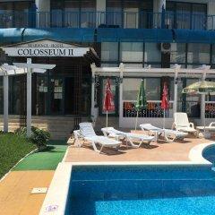 Отель Colosseum 2 Aparthotel Болгария, Солнечный берег - отзывы, цены и фото номеров - забронировать отель Colosseum 2 Aparthotel онлайн бассейн фото 2