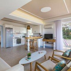Kalkan Suites 3* Апартаменты с различными типами кроватей фото 39