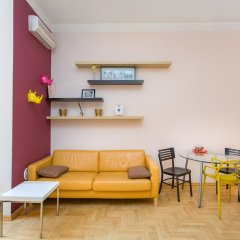 Апартаменты Four Squares Apartments on Tverskaya Апартаменты с двуспальной кроватью фото 42