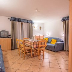 Hotel Lo Scoiattolo 4* Апартаменты с различными типами кроватей фото 6