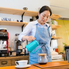 Отель Cafe&Pension SUOMI Морияма гостиничный бар