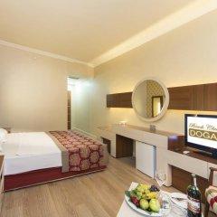 Отель Beach Club Doganay - All Inclusive 5* Стандартный номер с различными типами кроватей фото 8