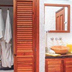 Отель Las Nubes de Holbox 3* Бунгало с различными типами кроватей фото 13