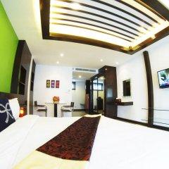 Отель Chalong Mansion 2* Студия с различными типами кроватей