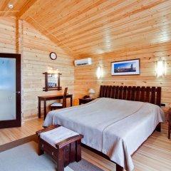 Гостиница Золотая бухта Бунгало с различными типами кроватей фото 3