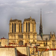Отель Notre Dame Paris Flat Париж приотельная территория