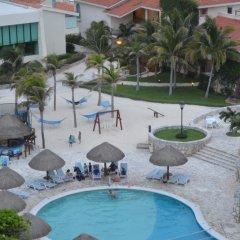 Отель Grand Park Royal Luxury Resort Cancun Caribe бассейн фото 2